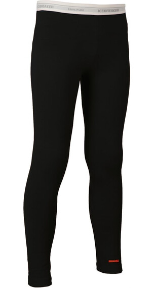 Icebreaker Kids Oasis Leggings Black (001)